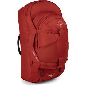 Osprey Farpoint 70 Rucksack Herren red